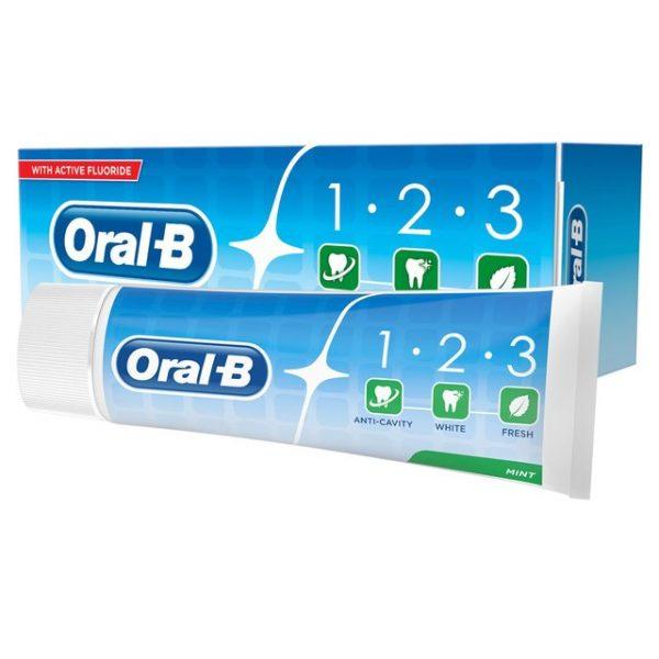 خمیر دندان اورال بی مدل 1.2.3