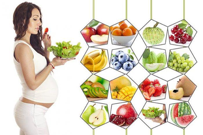 Eat During Pregnancy e1570355063983 عوارض تغذیه نامناسب مادران و چند توصیه مهم در بارداری