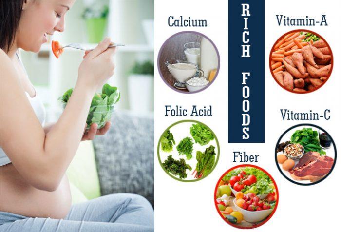 Foods During Pregnancy e1570368283233 رژیم غذایی مناسب برای مادران باردار