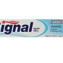 خمیر دندان سیگنال مدل Daily White حجم 75ml اصل انگلیس