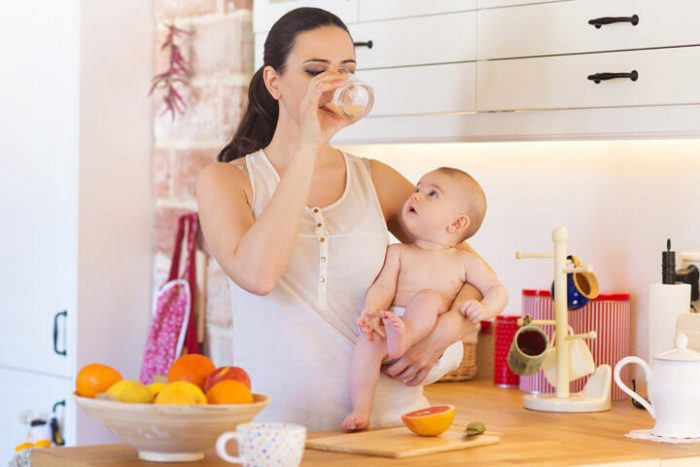 what you eat while pregnant may affect your babys gut a mothers diet during pregnancy may have an e1570362343241 توصیه های بسیار مهم تغذیه ای به مادران شیرده